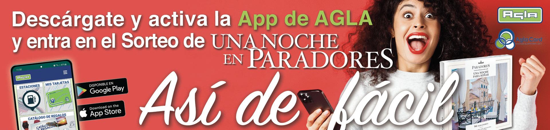 Nuevo sorteo ¡Descarga la APP de AGLA!